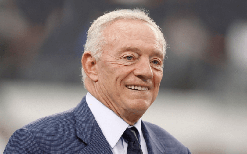 Jerry Jones Sports Legalisation in Texas
