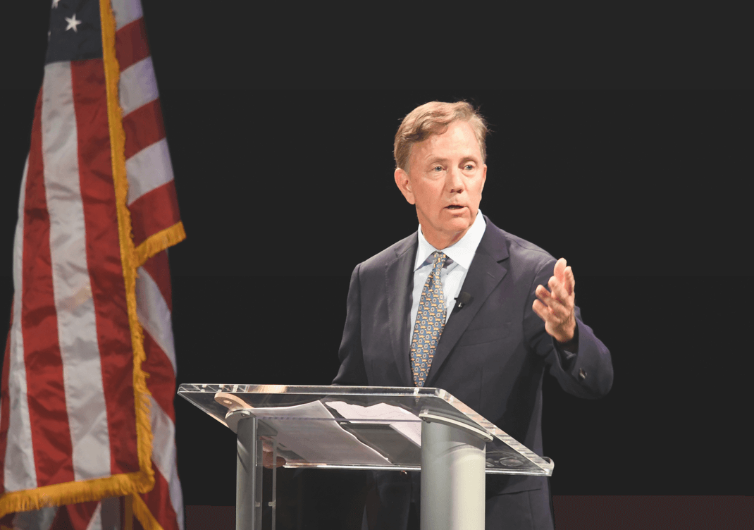 Connecticut Governor Ned-Lamont