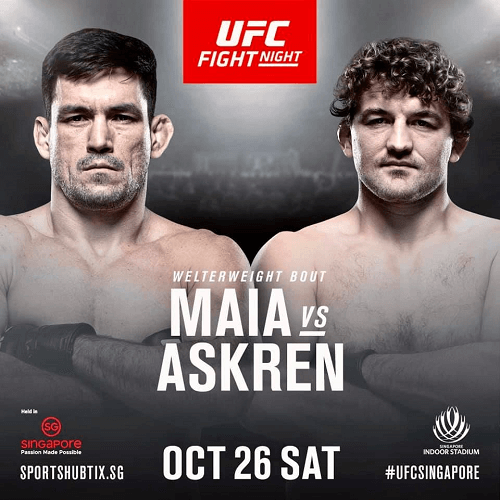 UFC Fight Night 162 Maia vs Askren