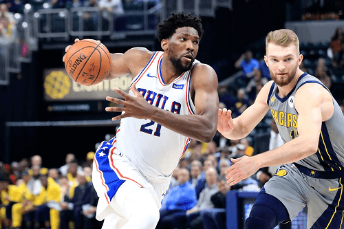 Philadelphia 76ers Take on Indiana Pacers