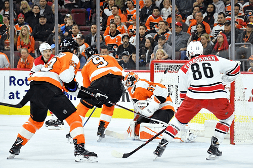 Philadelphia Flyers vs Carolina Hurricanes